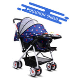 Tweety Reversible Stroller and Pram with Singing Food Tray (Blue Stars)