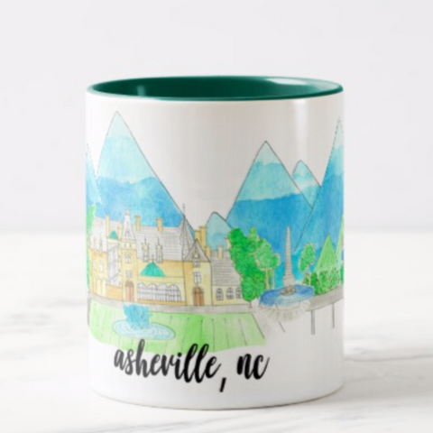 Asheville, NC Coffee Mug