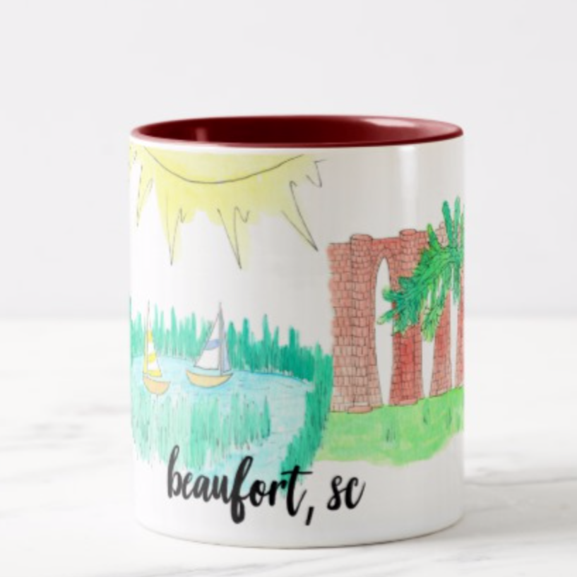 Beaufort, SC Coffee Mug