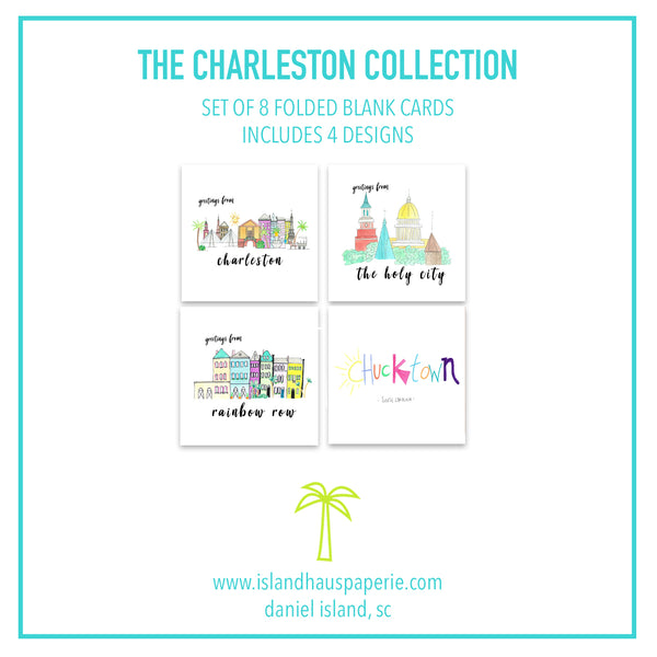Charleston Collection Card Pack