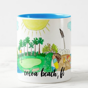 Cocoa Beach, FL Coffee Mug