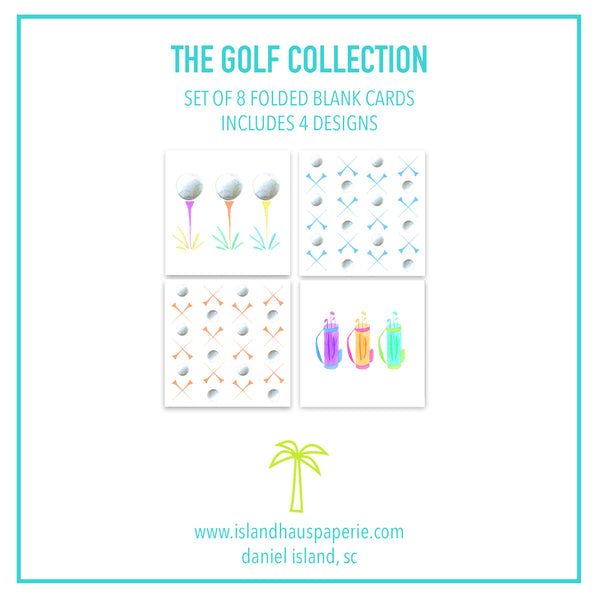 Golf Collection Card Pack