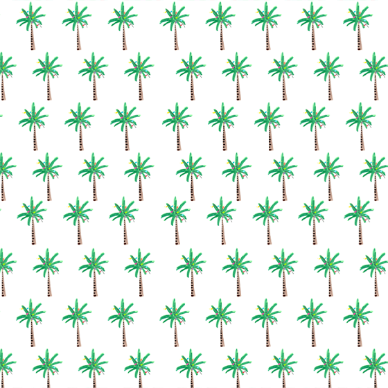 Holiday Palms Gift Wrap