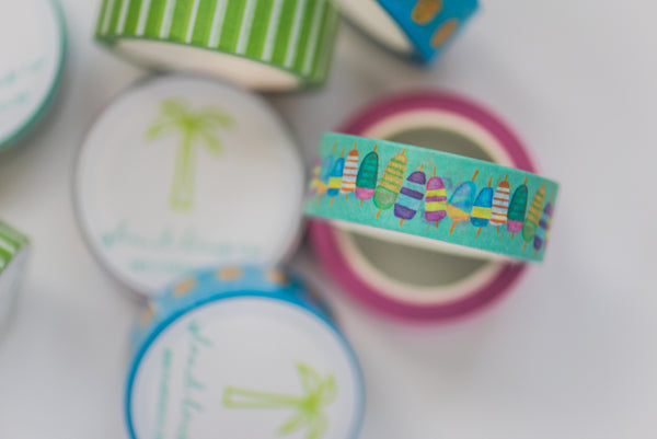 Colorful Buoys Tape Roll
