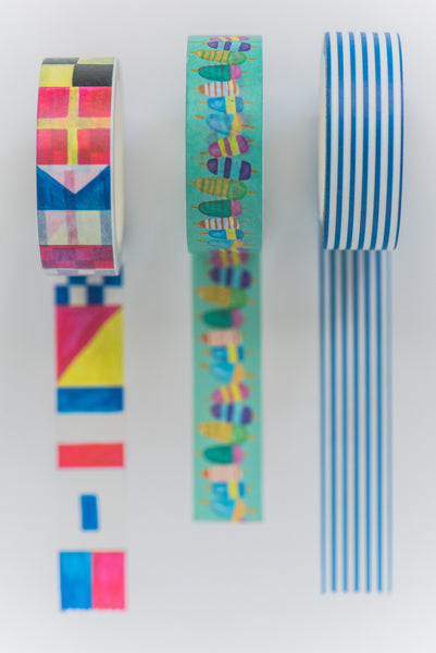 Maritime Flags Tape Roll
