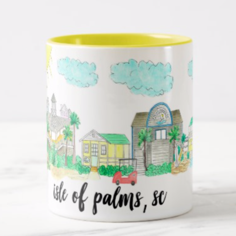 Isle of Palms, SC Coffee Mug