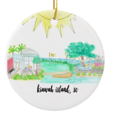 Souvenir Beach Ornament