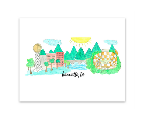 Knoxville, TN Print
