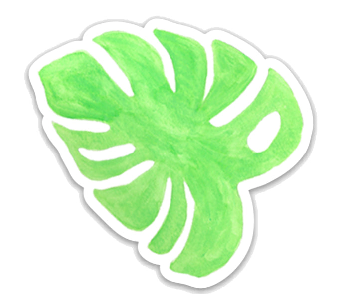 Monstera Leaf Sticker