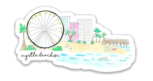 Myrtle Beach, SC Sticker