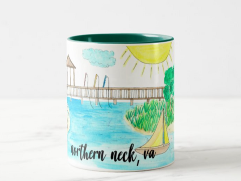 **PREORDER**Northern Neck, VA Coffee Mug