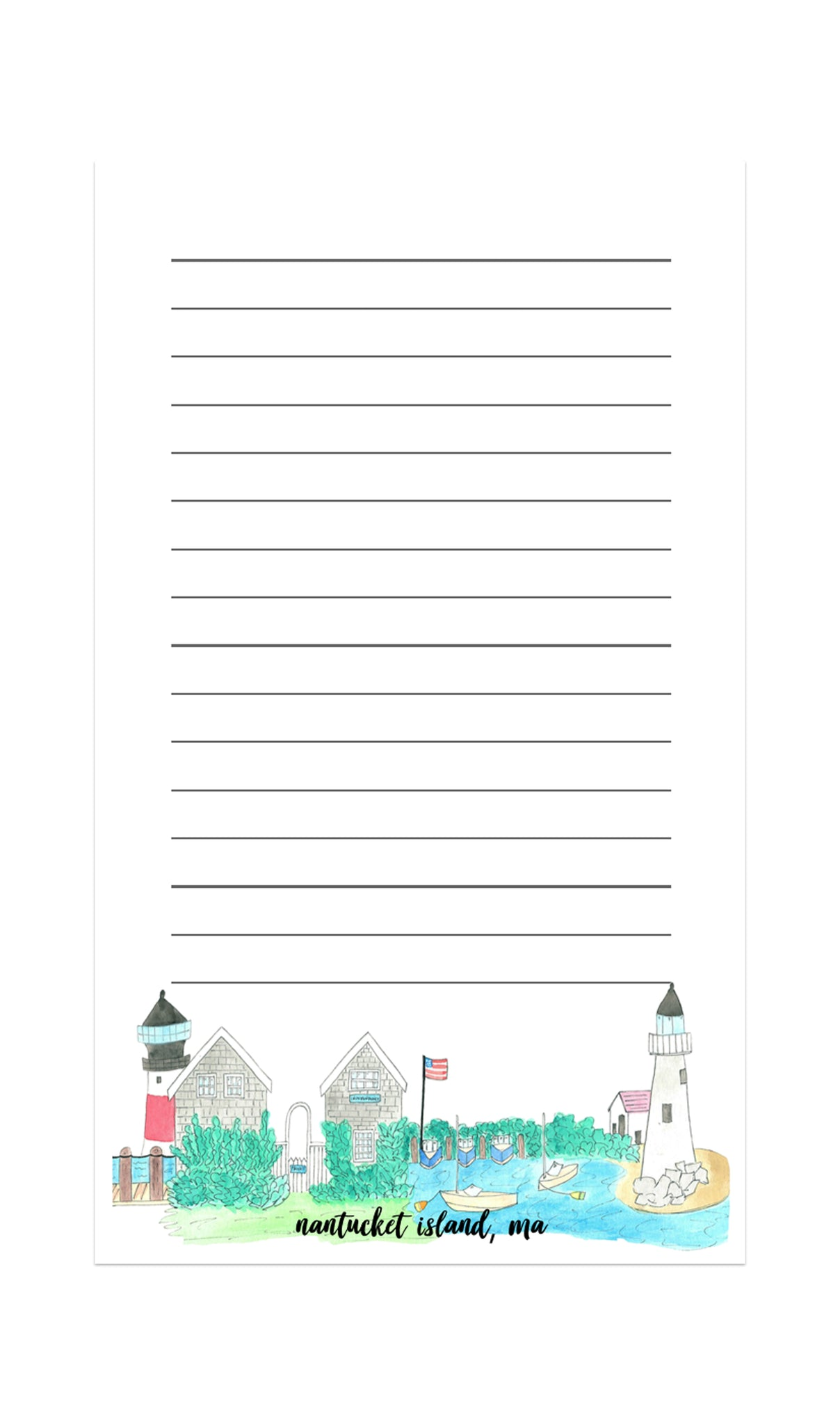 Souvenir Stationery Notepad Cards