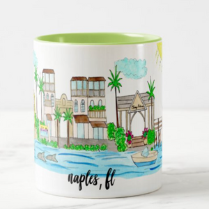 Naples Souvenir Coffee Mug