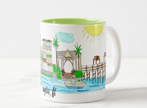 Naples, FL Coffee Mug