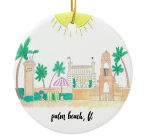 Palm Beach, FL Ornament