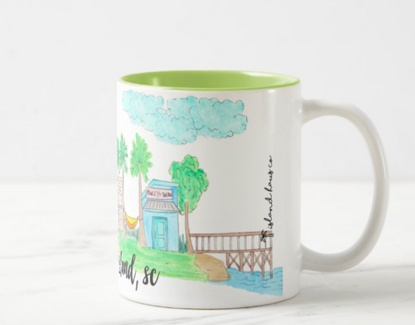 Pawley's Island, SC Coffee Mug