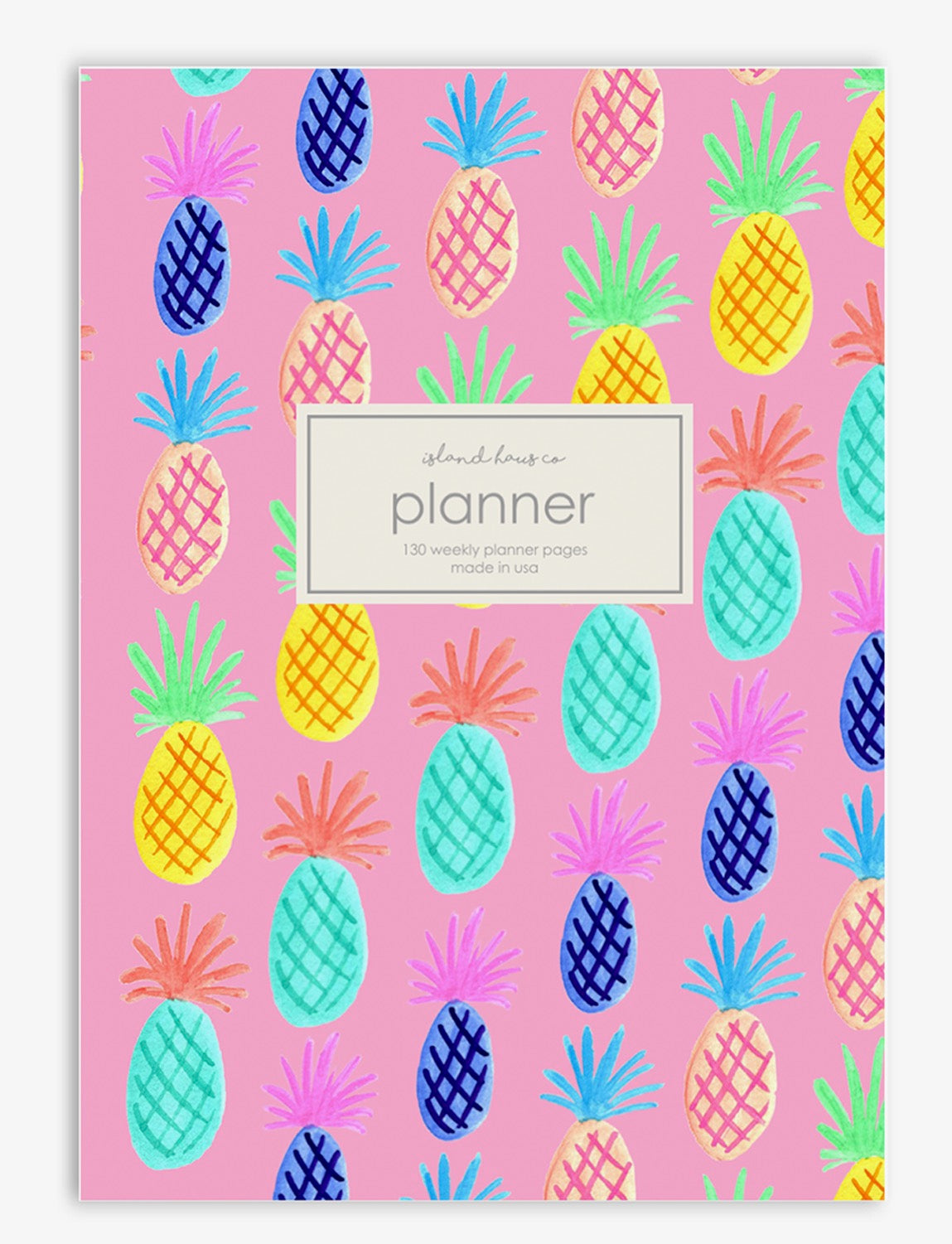 Pineapple Weekly Planner