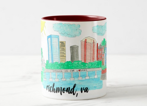 **PREORDER**Richmond, VA Coffee Mug