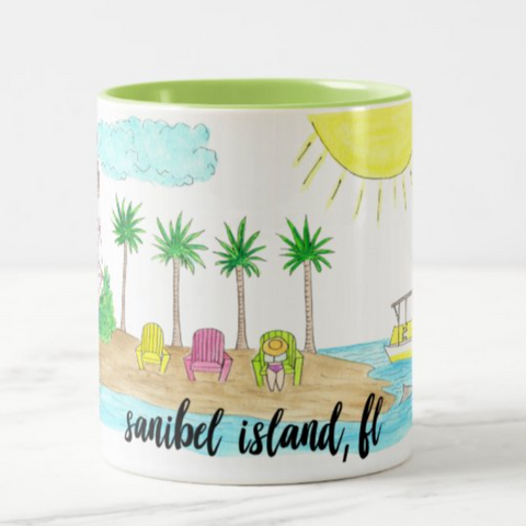 Sanibel Island, FL Coffee Mug