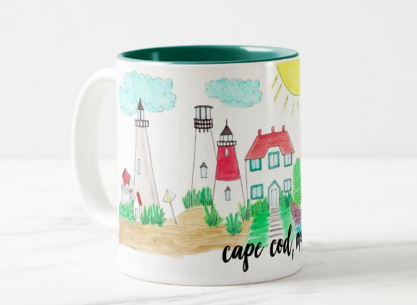 Cape Cod, MA Coffee Mug