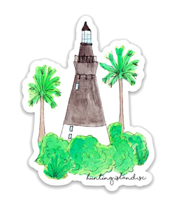 Hunting Lighthouse Sticker
