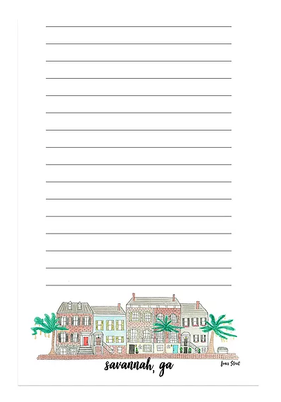 savannah notepad