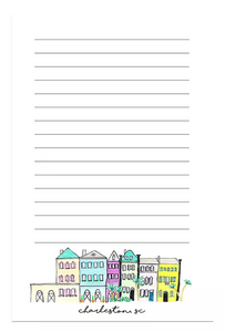 rainbow row notepad
