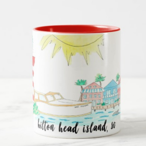 hilton head island coffee mug