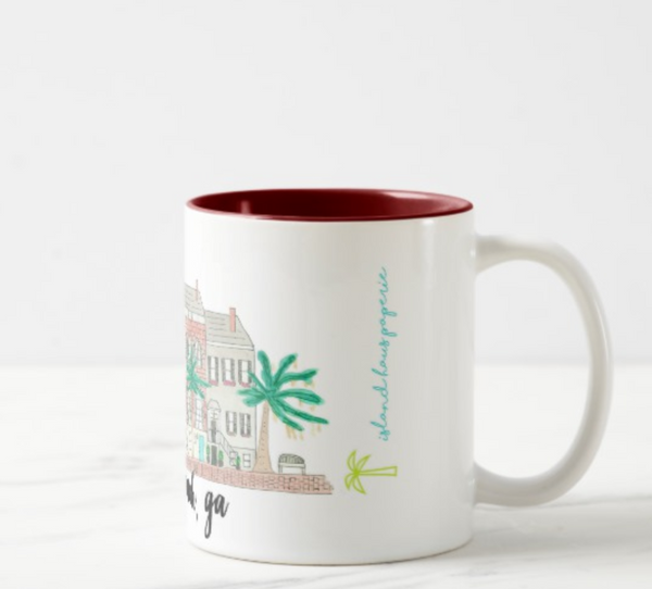 Savannah, GA Coffee Mug