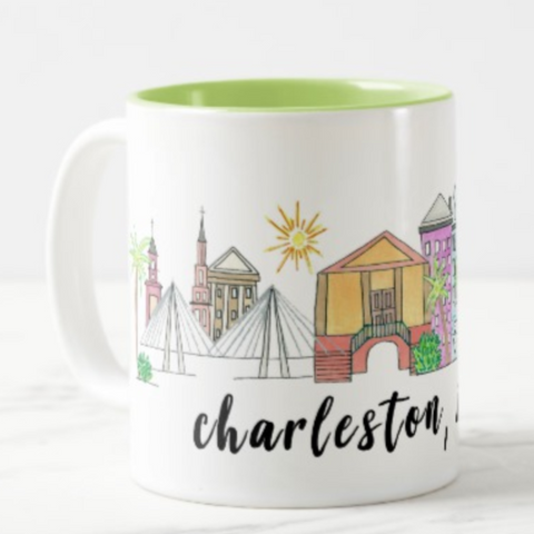 charleston south carolina coffee mug