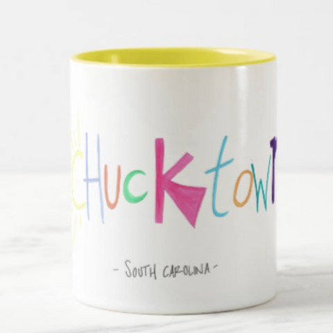 chucktown south carolina coffee mug