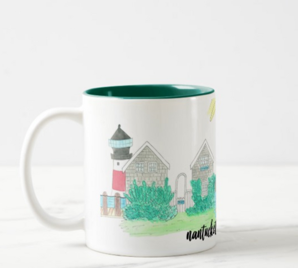 Nantucket Island, MA Coffee Mug