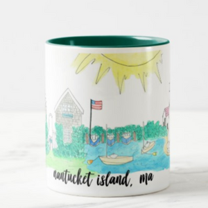 Nantucket Coffee Mug