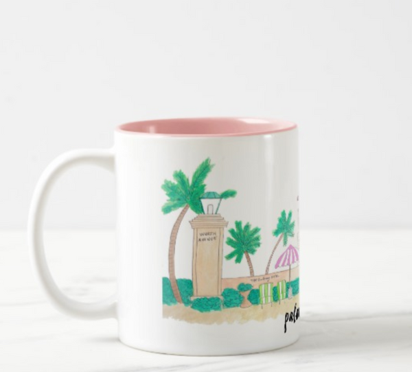 Palm Beach, FL Coffee Mug