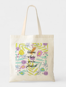 bloom market tote