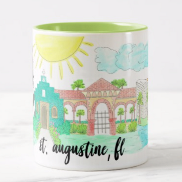 st-augustine-florida-coffee-mug