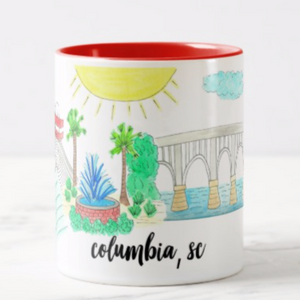 Columbia, SC Coffee Mug