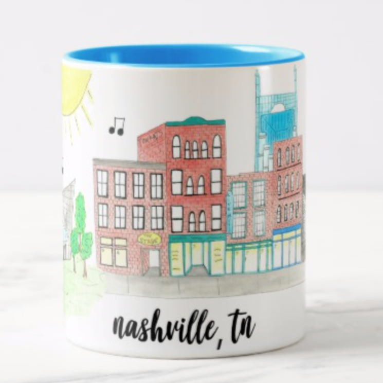 Nashville, TN Coffee Mug