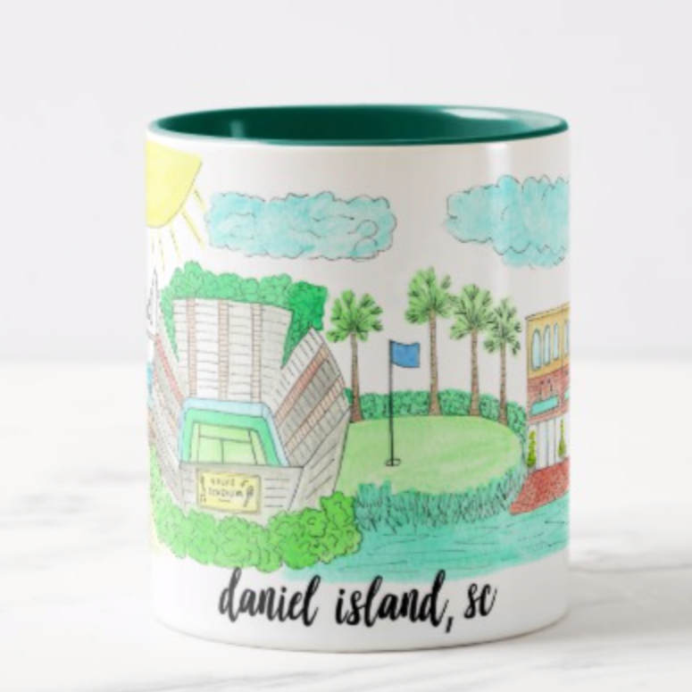 Daniel Island, SC City Coffee Mug