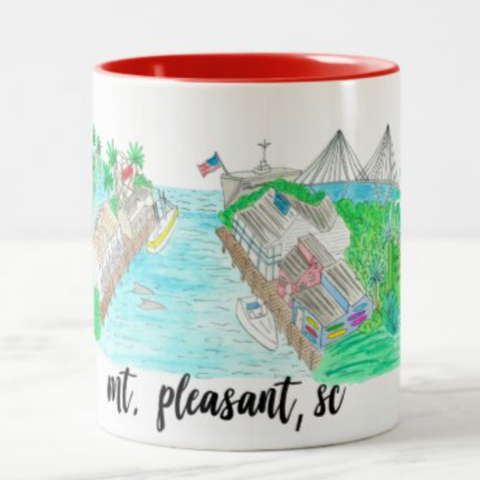 Mount Pleasant Souvenir Coffee Mug
