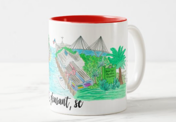 Mt. Pleasant, SC Coffee Mug