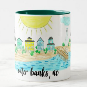 Outer Banks, NC Coffee Mug