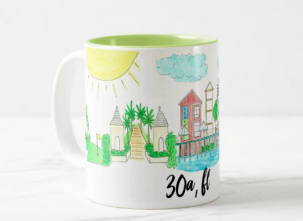 30A, FL Coffee Mug