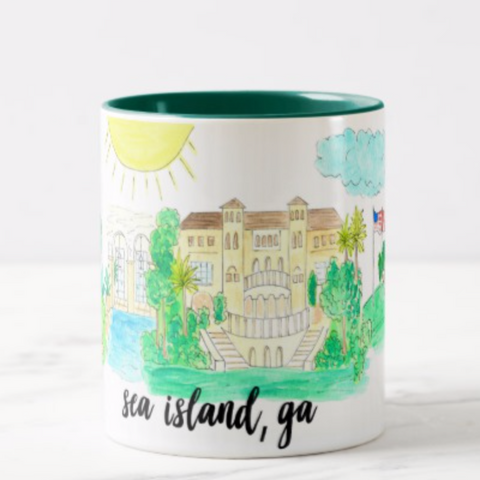Sea Island, GA Coffee Mug