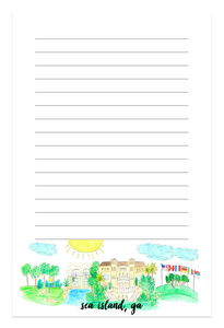 Sea Island, GA Notepad