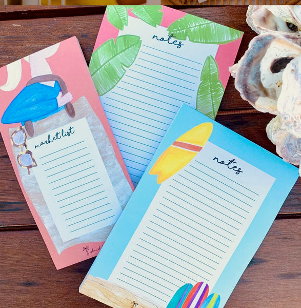 Coastal Notepad Stationery
