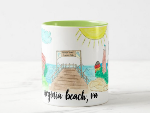 **PREORDER**Virginia Beach, VA Coffee Mug