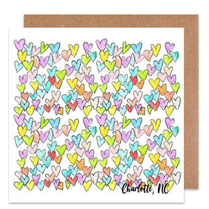 Charlotte Hearts Card