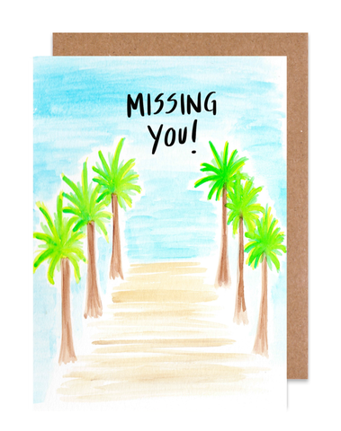 Missing You! Card