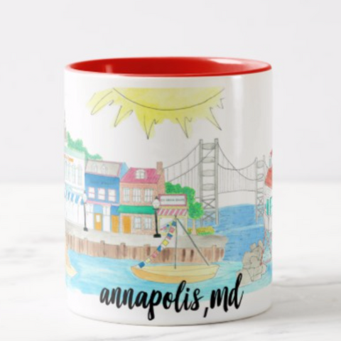 Annapolis Maryland coffee mug